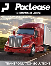 PacLease Peterbilt Transportation Solutions brochure.