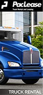 PacLease Kenworth Truck Rental brochure.