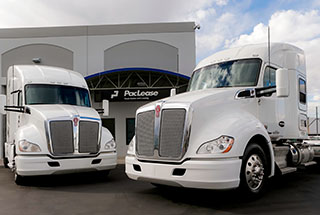 PacLease Truck Rental Market Showing 20 Percent Growth