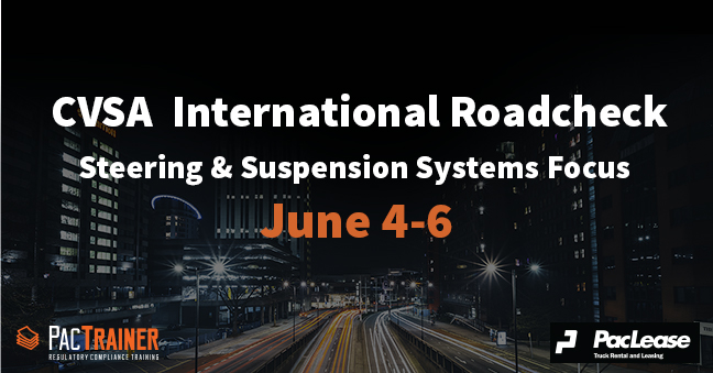 Are You Prepared for the CVSA International Roadcheck?